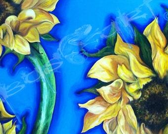 """You are my Sunshine"" - Fine Art Giclee Print."