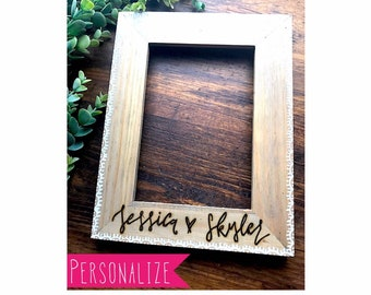 Custom Picture Frame. Personalize me now!
