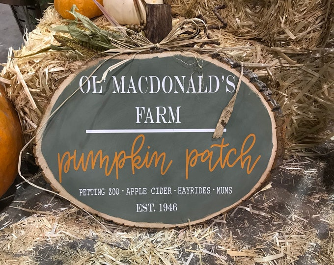 Ol' MacDonalds Pumpkin Patch