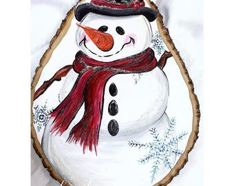 Basswood Snowman