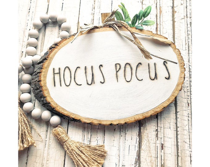 Hocus Pocus Pumpkin- Rae Dunn Inspired
