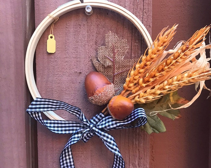 Fall Inspired Wreath.