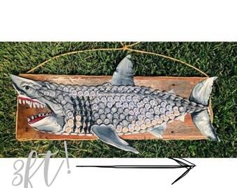 Upcycled Great White Shark.