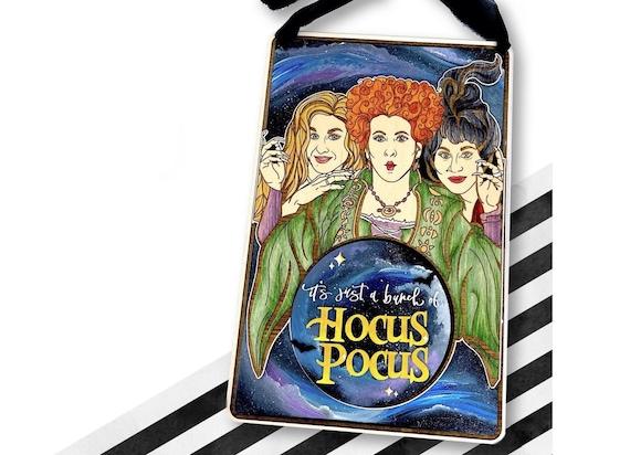 Sanderson sisters. Hand painted Sanderson sister sign. Halloween hocus pocus sign. Halloween Sanderson sisters. Hocus pocus galaxy. Galaxy