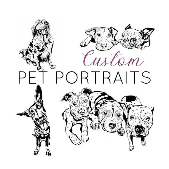Custom Pet Portraits. Custom Tattoo Design. Dog Sketch. Dog Sketch Tattoo. Dog Tattoo. Custom Dog Tattoos. Dog Prints. Custom Dog Art Prints