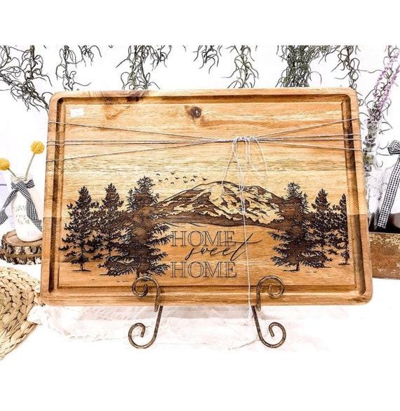 Home Sweet Home Cutting Board. Newlywed Gift. Wedding Gift. Wedding Gifts. Anniversary Gift. Housewarming Gift. New Home. Housewarming. Home