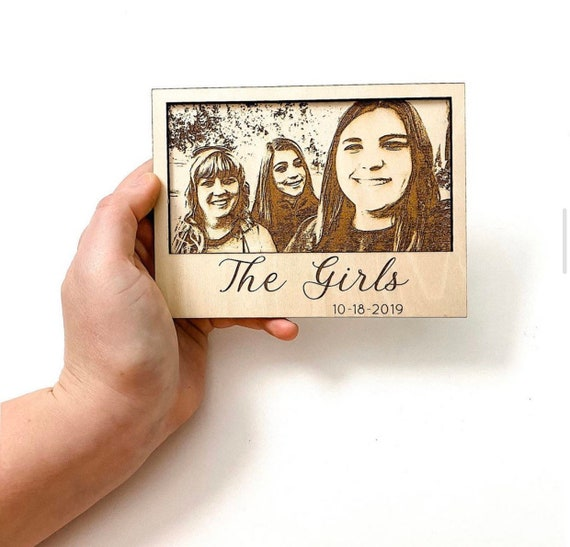 Wooden Polaroid. Bridesmaid Gifts. Maid of Honor Gifts. Bridal Party. Bridal Party Gifts. Polaroids. Wedding Gifts for Couple. Groomsman