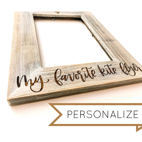 Barnwood Picture Frame. Personalize now!