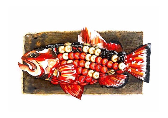 Upcycled Red Grouper.