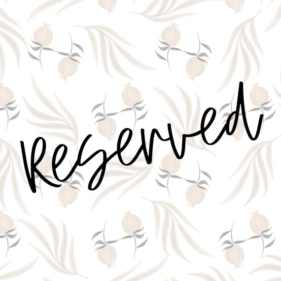 Reserved for Tera
