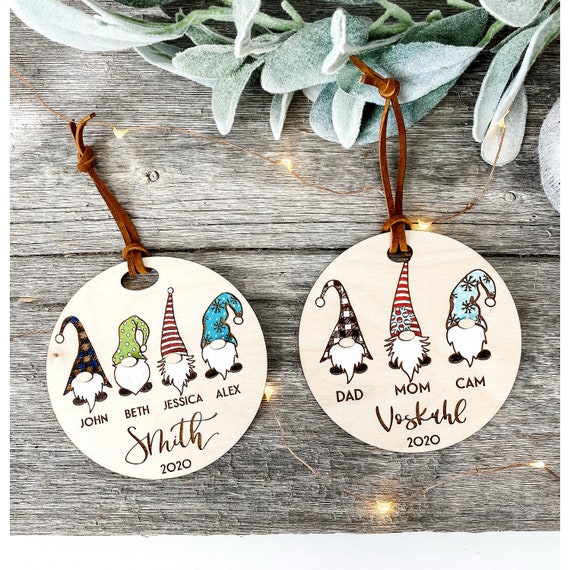 Christmas gnome ornament. Gnome ornaments. Gnome decor. Christmas gnomes. Gnome family. Christmas gnome ornaments. Ornament. Gnomies