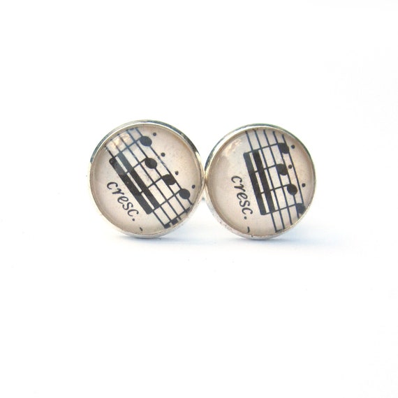 Personalized world map cufflinks - Sheet music