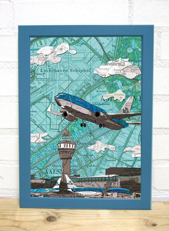 Map poster: Transportation