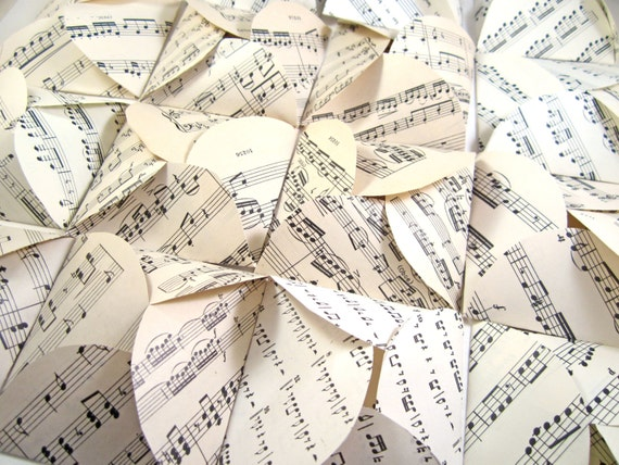 Set of 15 sheet music / galaxy envelopes