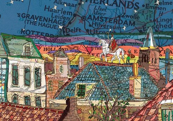 Sinterklaas A4 print