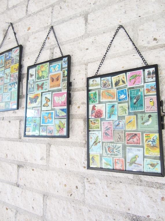Postage stamp frame