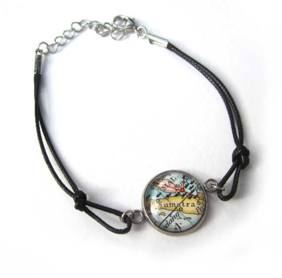 World map bracelet - Oceania / Australia