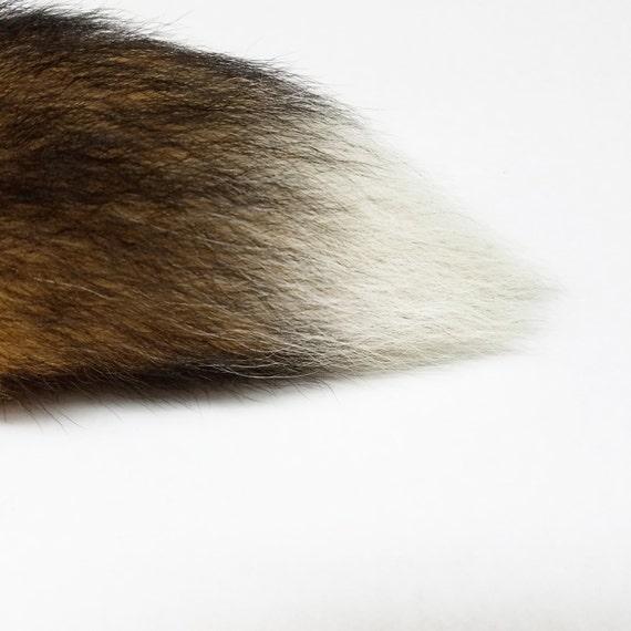 7-8'' queue de pointe-lapin UNIQUE petites, red fox butt plug!! Sur petites, UNIQUE moyennes ou grandes en acier inoxydable butt plug!! 02f5e0