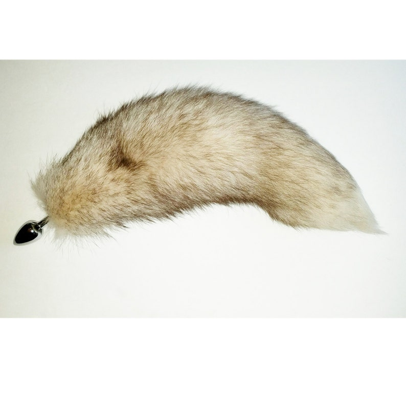 cc9ef3582 16-17 WOW Amazing crystal fox tail butt plug your