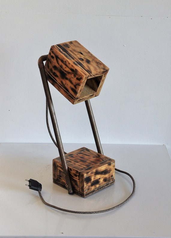 Wooden lampzero lamppallet lampwooden lamp lamppallet lampwooden desk waste lamprecycled pallet desk lampupcycled desk YH9DWE2I