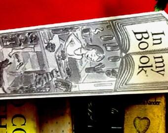 SOME DISH greeting card bookmark