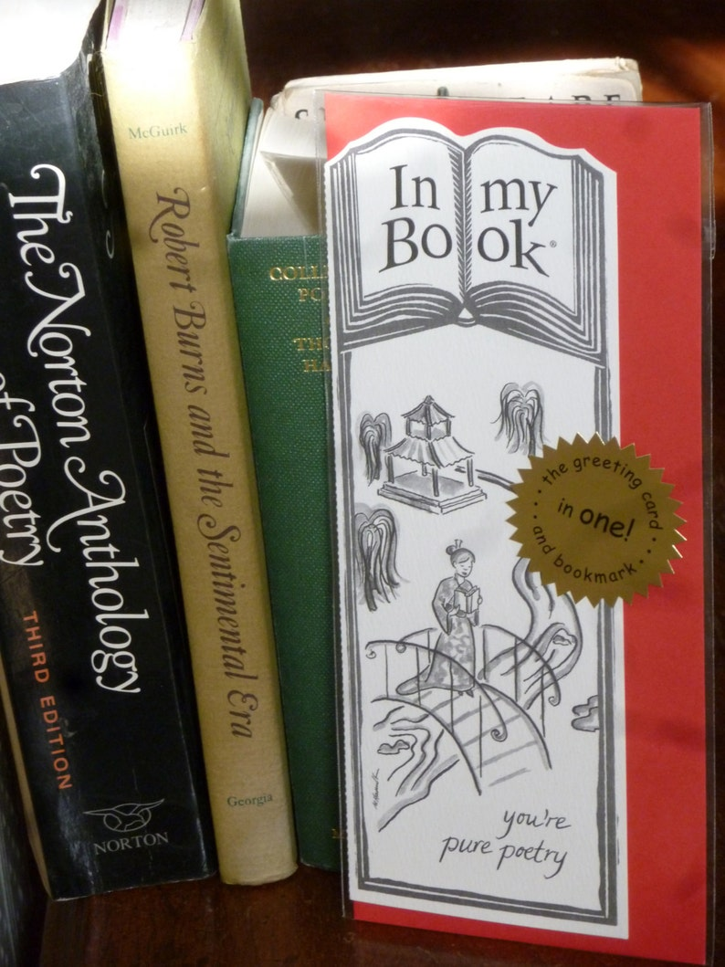 POETRY greeting card bookmark image 0