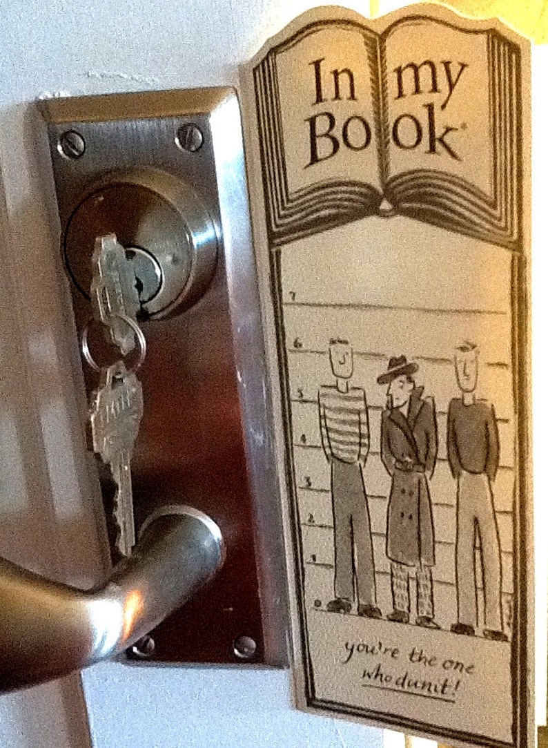 WHODUNIT greeting card bookmark image 0
