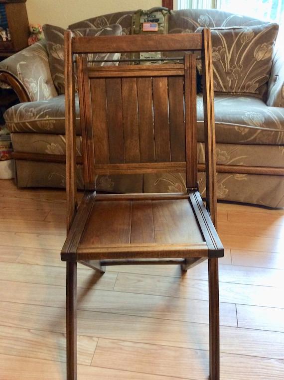simmons co wooden slat chair etsy rh etsy com