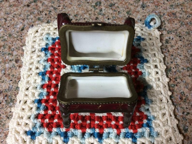 Ceramic Chair  Jewelry Holder