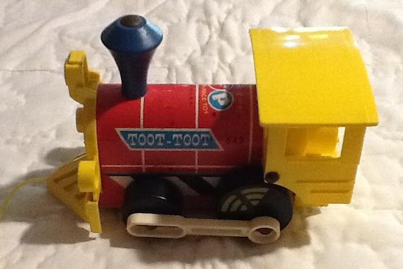 Prix de FIsher Toot toot train