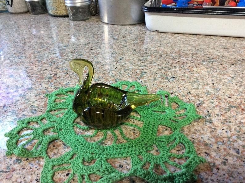 Green Swan Dish