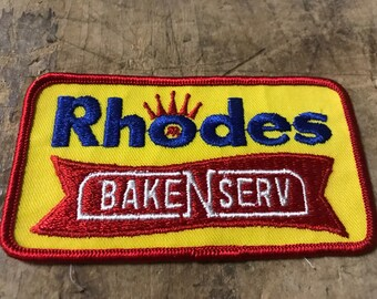 Vintage 1980's Rhodes Bakery Patch