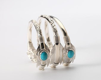 Silver Arrow Bangle | Native American Inspired | Arrow Bracelet | Arrow Jewelry | Hammered Silver Bangle | Tribal Bracelet | Bohemian Bangle