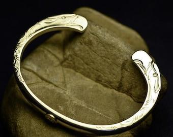 Eagle Bracelet | Eagle Head Bangle | Sterling Silver Bangle | Flying Bird Bangle | Silver and Gold Bangle | Native American Inspired Cuff