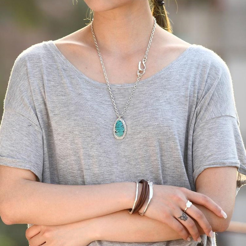 Layering Necklace Minimalist Necklace Simple Silver Chain Sterling Silver Necklace Plain Silver Chain Eagle Head Necklace Tribal