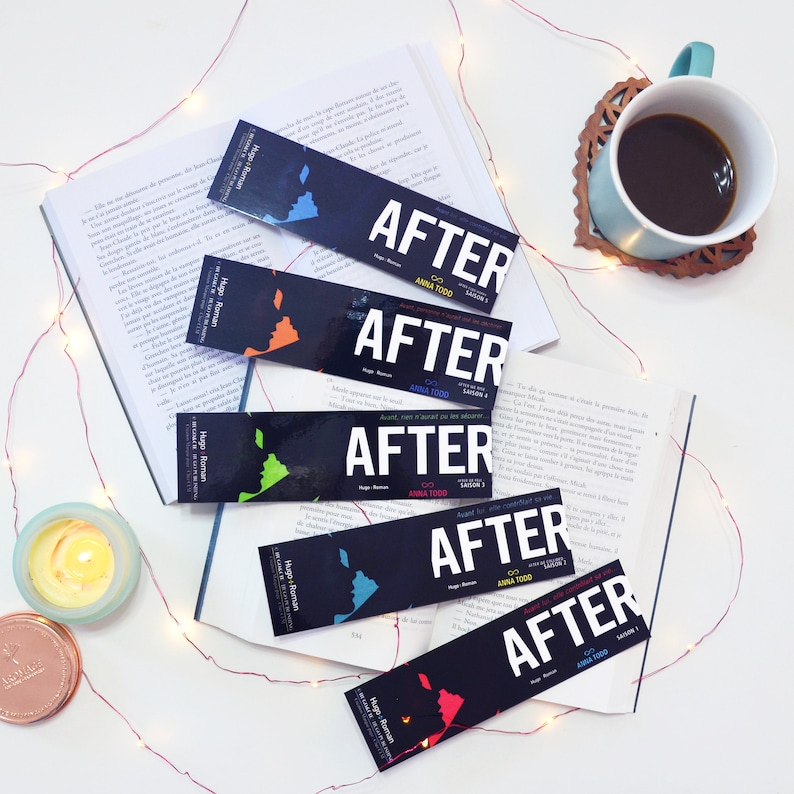1 X Bookmark After Books Of Anna Todd At Hugo Novel Cover Or Back Version Film Version Packs Are 20 Off