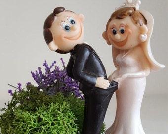 Funny wedding cake topper | Etsy