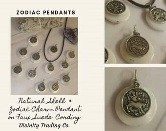Astrological Zodiac Pendant, astrology, aries, taurus, gemini, cancer, leo, virgo, libra, scorpio, sagittarius, capricorn, aquarius, pisces