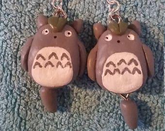 Totoro Drop Earrings