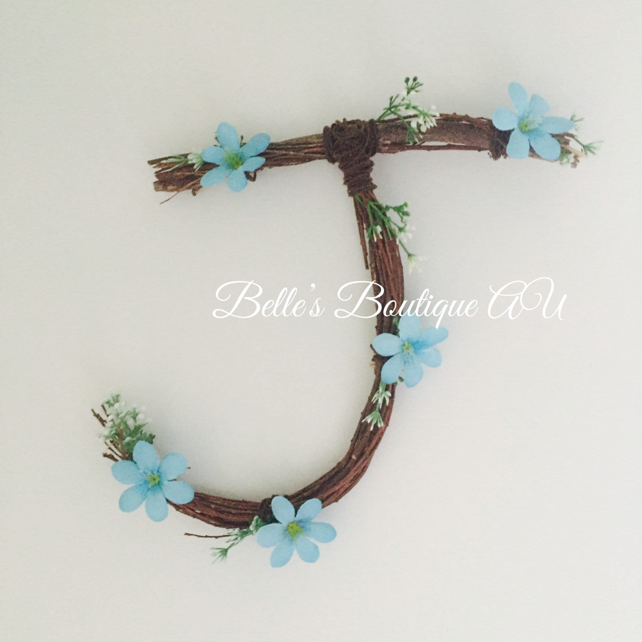 twig letter monogram, twig letter, personalised letters, twig names ...
