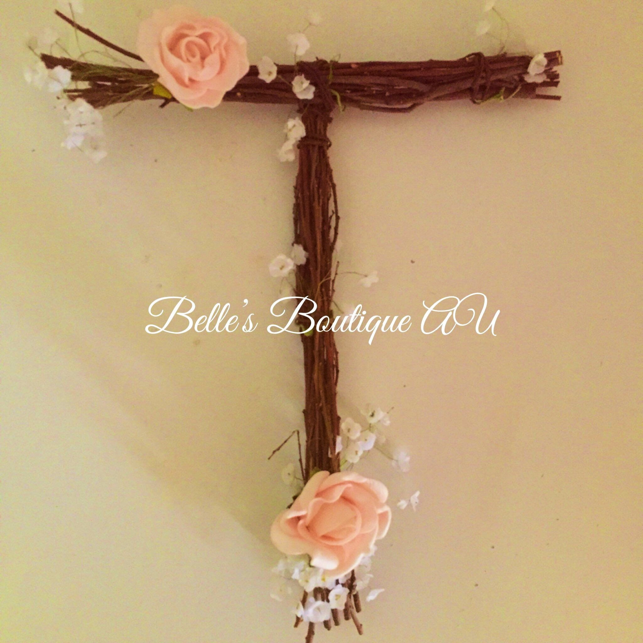 Rustic wooden letters, twig letters, twig names, floral letters ...