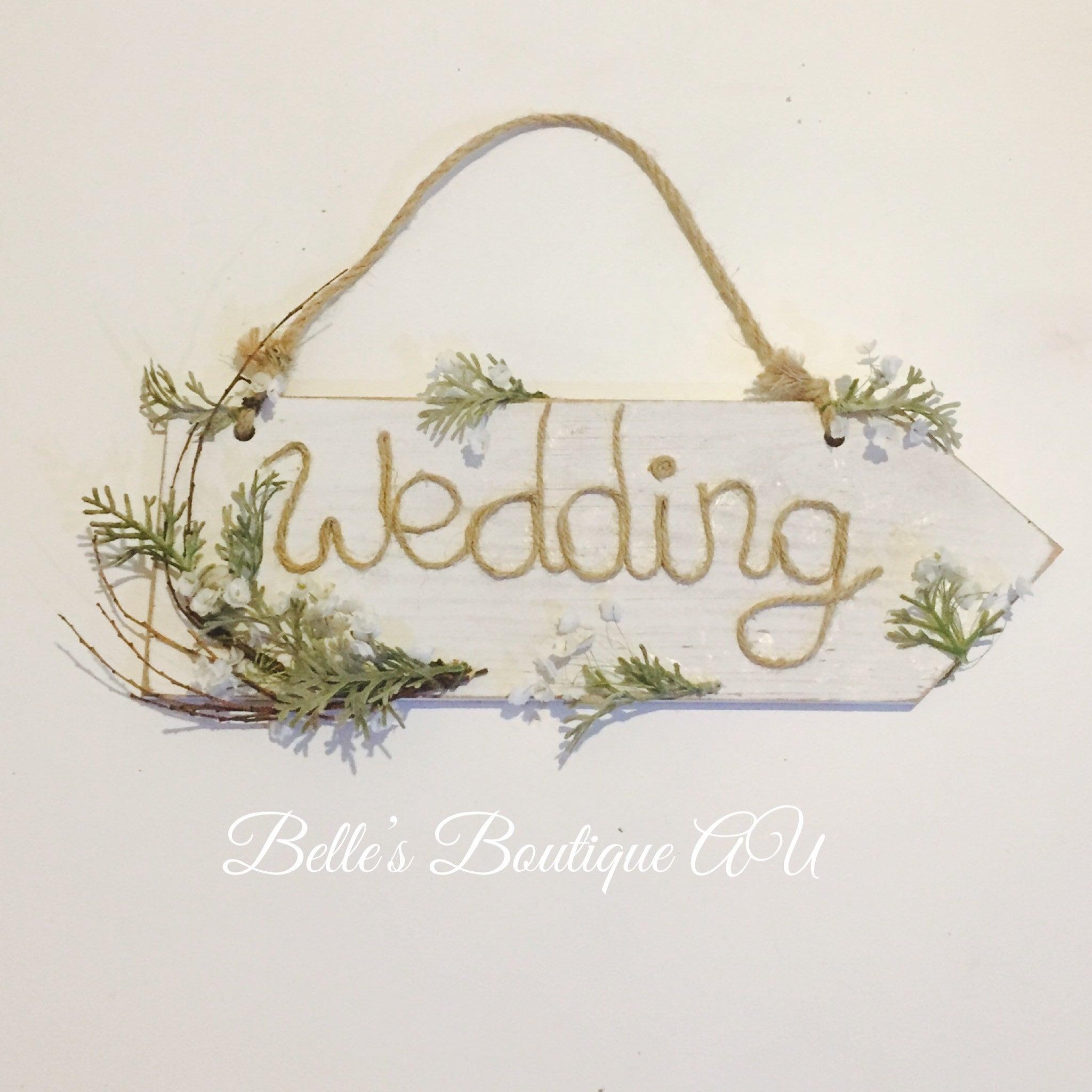 rustic wedding decor wooden wedding sign wedding welcome ... - photo#40