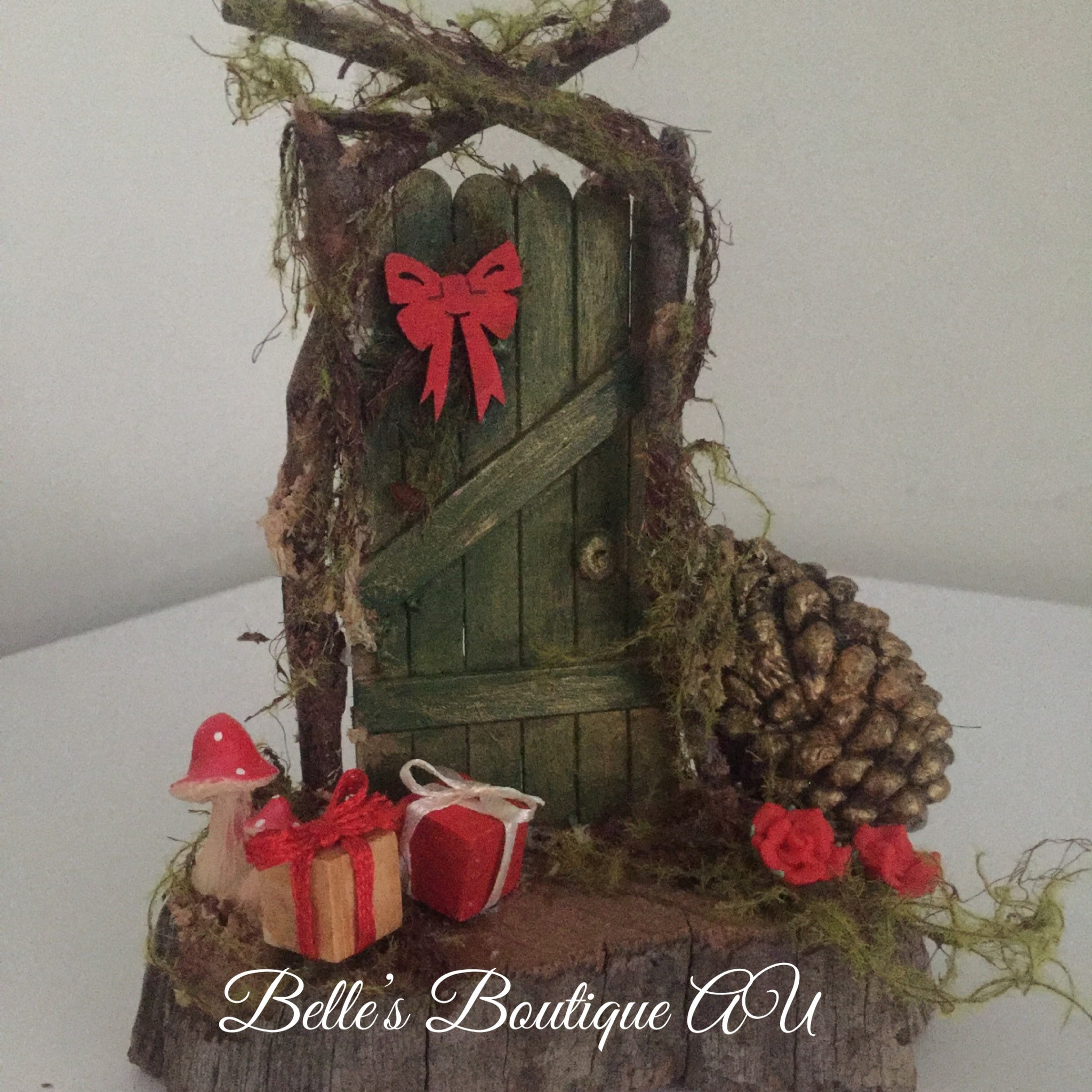 christmas fairy door decoration christmas fairy garden accessories