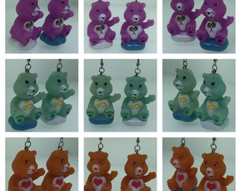 Care Bears Checkers Earrings