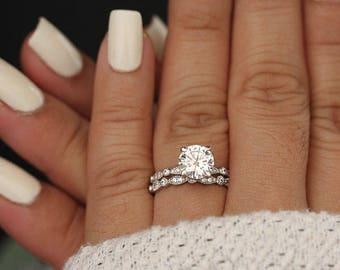 Wedding Rings Sets.Bridal Sets Etsy