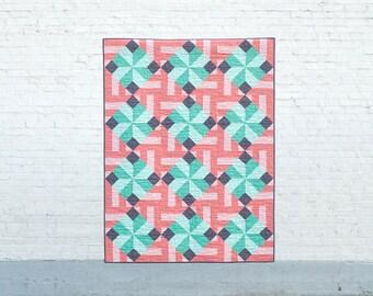 Tiled Parquet PDF Quilt Pattern