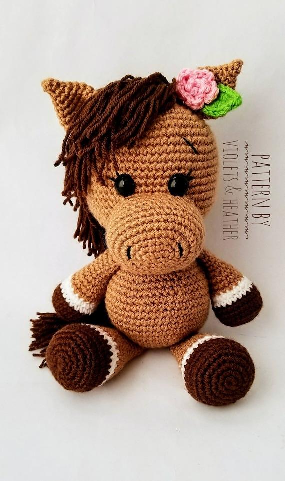 Horse Toy Amigurumi Tutorial #2 🦄 Örgü - YouTube   961x570