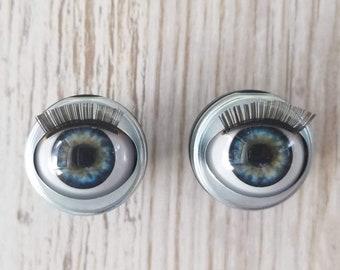 c01f0e8d1bd Victorian Blue Custom Doll Eyes - Fit 18