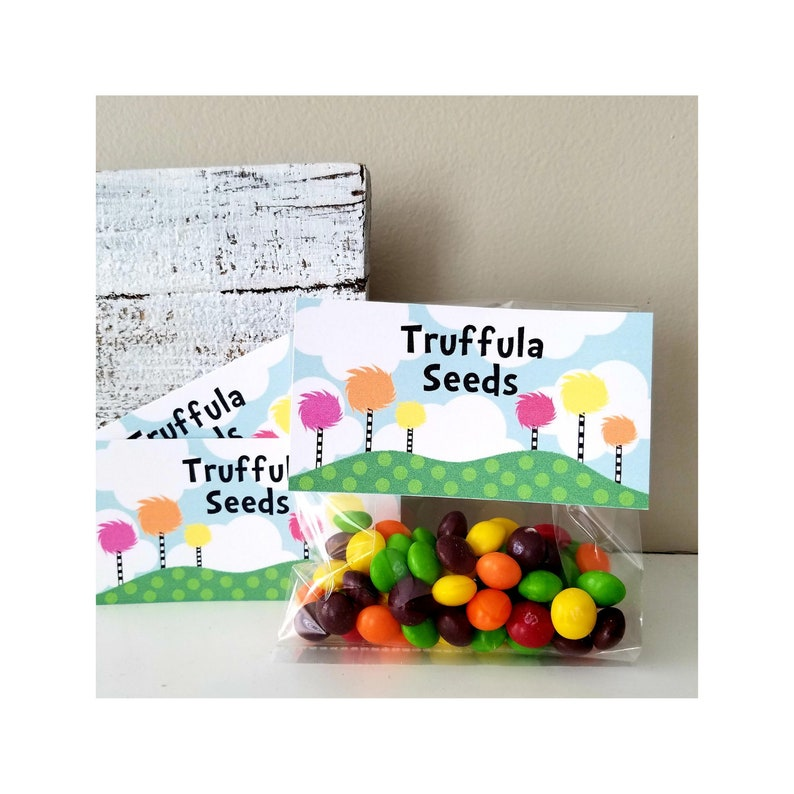 image about Truffula Seeds Printable known as Truffula Seeds