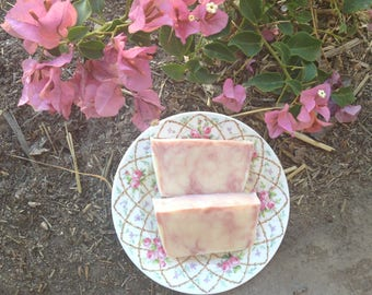 Pink Clay Olive Oil Soap